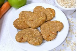 Apple Carrot Biscuits for dog
