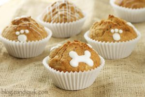 Dog Apple Crunch Pupcakes