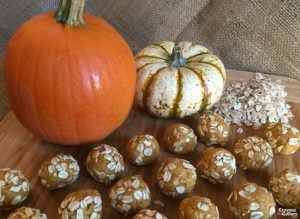 Pumpkin Peanut Butter Dog Treats